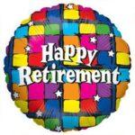 Balloon Happy Retirement 18in