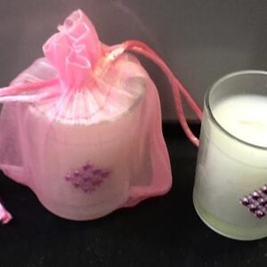 Candle Votive with Accent