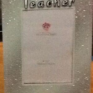 Teacher Frame Glitter