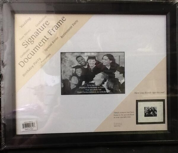 Autograph Signature frame with matte – Party and Gifts 4U