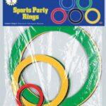 Olympics Rings Decor 15ct