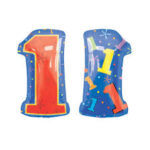 Balloon Birthday 1 Foil 21in