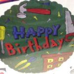 Balloon Birthday Construction Tools
