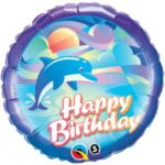 Balloon Birthday Under The Sea Dolphin