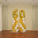 Balloons Coloumn with 60