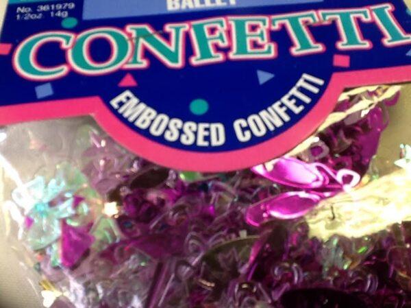 Ballet Twinkle Toes Confetti