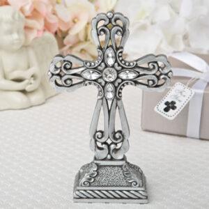 A Cross Statue Silver