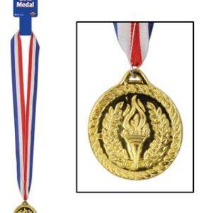 Award Ribbon Medal Gold