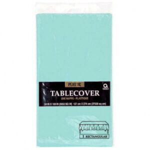 Tableware Blue Plastic Table cover