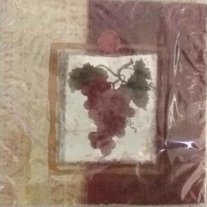 Burgundy Grapes Lunch Napkins