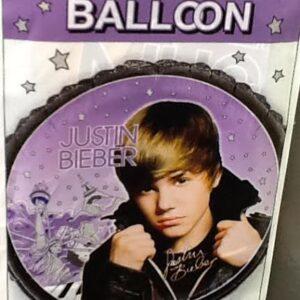 Balloon Justin Bieber