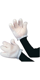 Clown Gloves Mitts Adults
