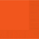 Tableware Orange Lunch Napkins 50ct