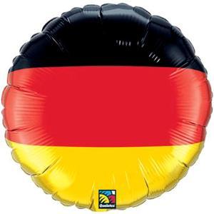 German Flag Balloon 18in