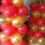 A Balloon  Column Latex