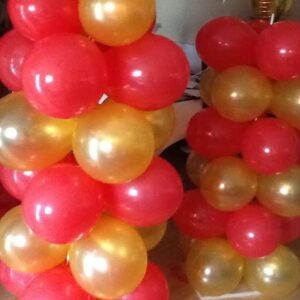 A Balloon  Column Latex