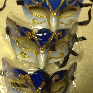 A Masquerade Mask Blue