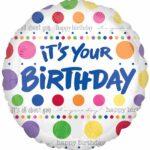 Balloon Birthday Its Your Birthday