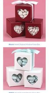 Favor Heart Red boxes 24ct
