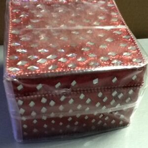 Gift Jewelery box Red