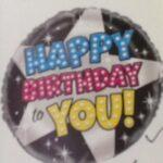 Hollywood Balloon Happy Birthday