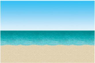 Nautical Back Drop Sea Sand Water