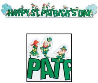 St Patrick Day Banner