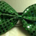70's Shimmer Sequin Bow Tie