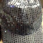 Disco Hat Light  Blue Sequin