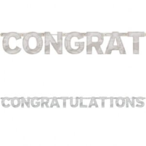 A Congratulations Banner