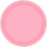 Tableware PInk Paper Plates 7in