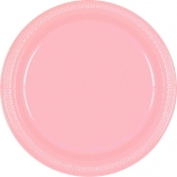 Tableware Pink Paper Plates 9in 24ct