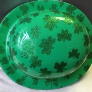 Derby Hat St Patrick Plastic