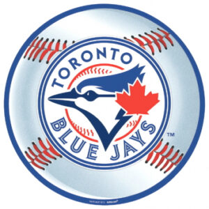 Baseball Blue Jays Cutout
