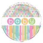 Baby Shower  Pastel Balloon