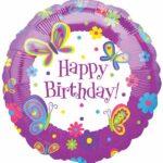 Balloon Birthday Butterflies