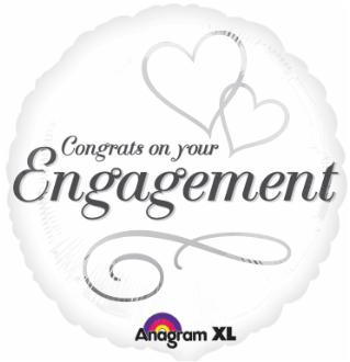 Balloon Congrats on Your  Engagement