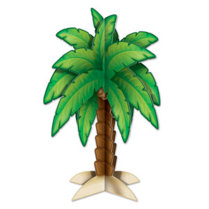 Centerpiece Palm Tree 3-D