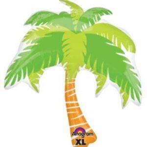 Luau Balloon Palm Tree 33in