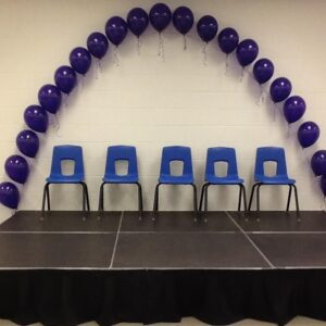 A Balloon Decor Arch single