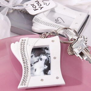 Favor Bling Photo Keychain