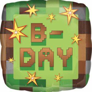 Balloon Birthday Minecraft