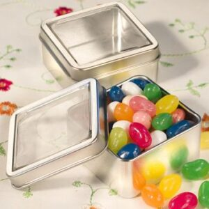 Favor box Tin Square Metal