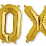 Balloon XOXO airfilled
