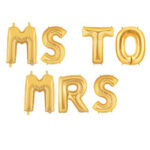 Balloon MS TO MRS  Banner