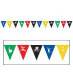 Sports Pennant Banner 12feet