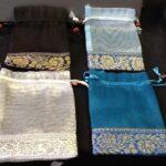 Favor Bags Organza with Brocade Trim