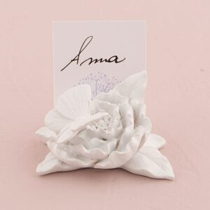 Floral Butterfly Place card Holder