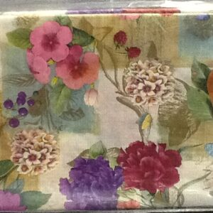 Flower Fruit Paper Table Cover