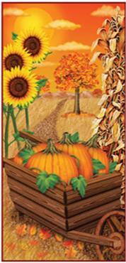 Fall Door Cover